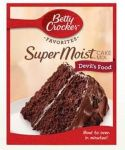 American Devil's Food Cake Mix (Betty Crocker Super Moist)